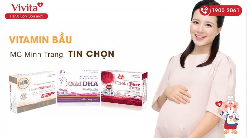 Bộ ba vitamin tổng hợp Olimp Labs được MC Minh Trang tin dùng