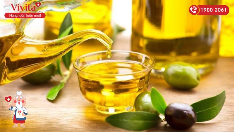 Dầu oliu có thể kết hợp cùng các nguyên liệu khác để tăng hiệu quả trị rạn