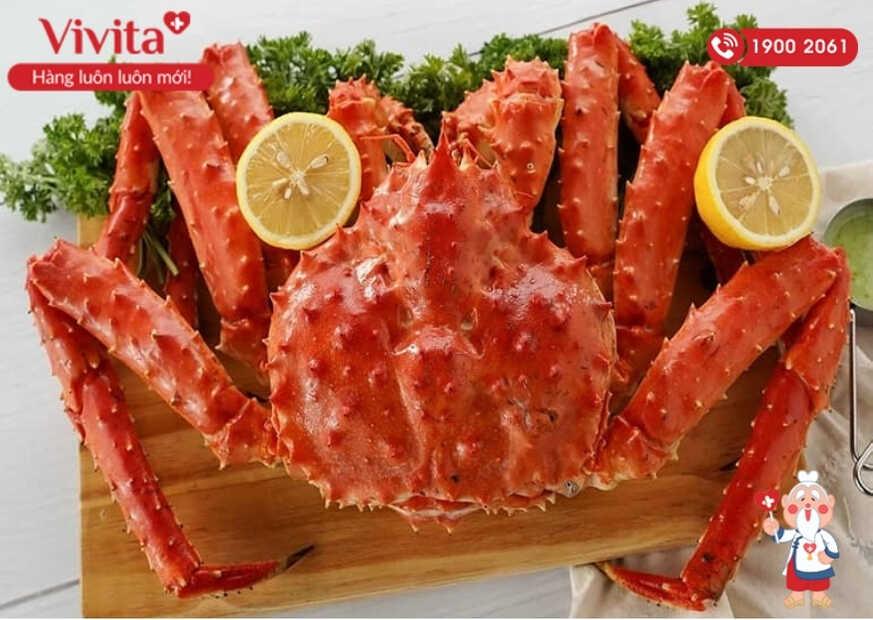 Cua, ghẹ là một trong các loại hải sản giàu Canxi vô cùng thơm ngon