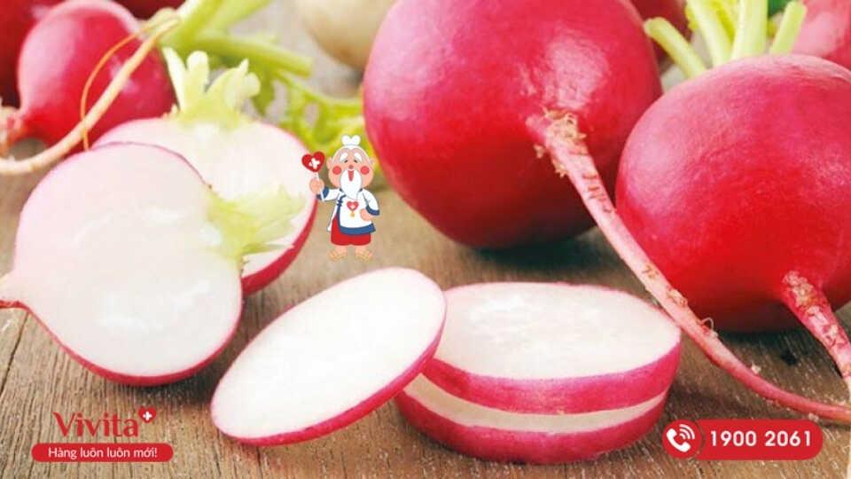 Củ cải đường từ lâu còn được sử dụng với mục đích y khoa nhờ khả năng giải độc gan tuyệt vời.