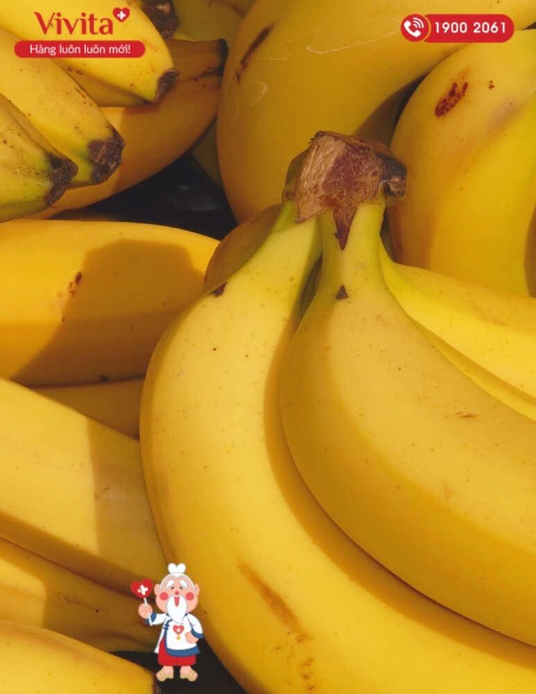 Chuối là loại trái cây thơm ngon, giàu dinh dưỡng