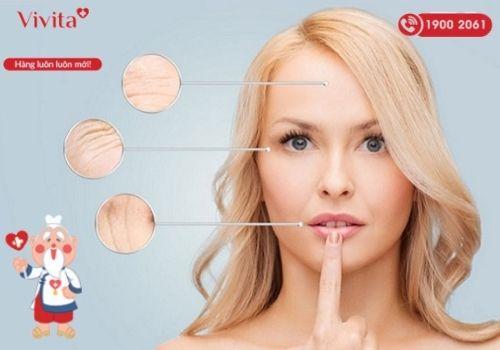 Dấu hiệu lão hóa da xuất hiện khi phụ nữ 30 tuổi