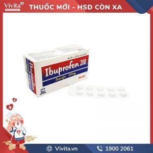 thuốc ibuprofen 200 Nadyphar