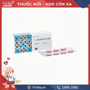 Thuốc kháng sinh trị nhiễm khuẩn L-Stafloxin 500
