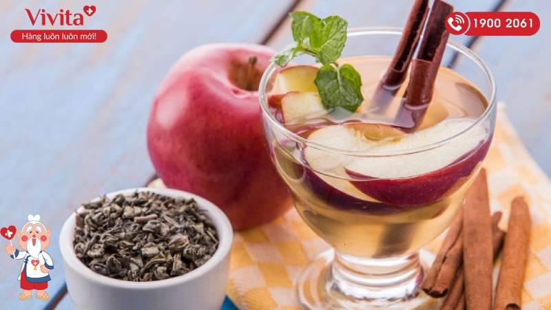 Nước ép táo quế giúp giải độc gan, thanh lọc cơ thể
