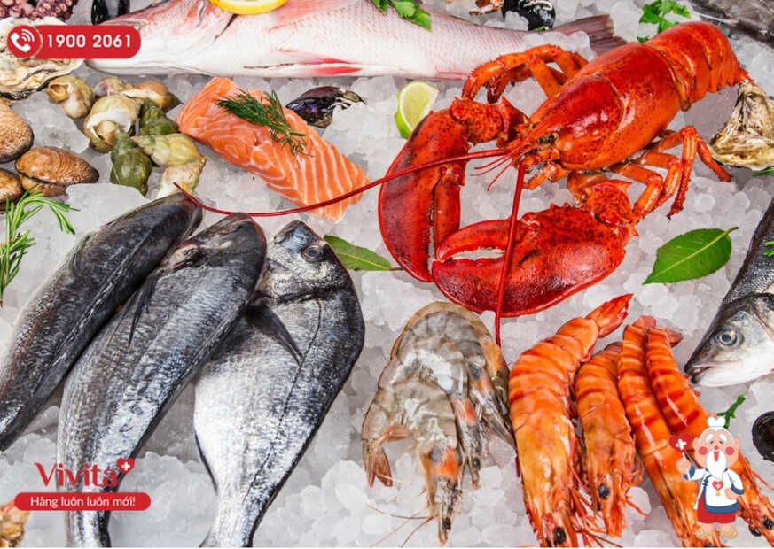 Hải sản được chứng minh là loại thực phẩm chứa nhiều Canxi