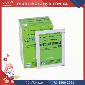 Thuốc kháng sinh Cefixim Uphace 100