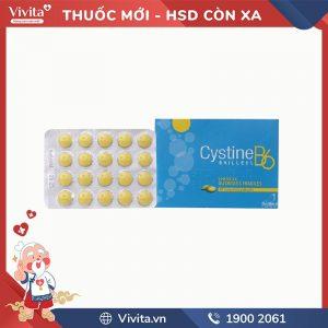 Thuốc trị rụng tóc, loạn dưỡng móng Cystine B6 Bailleul