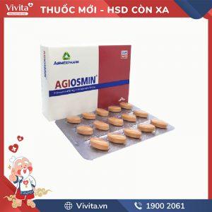 Thuốc trị trĩ, suy giãn tĩnh mạch Agiosmin
