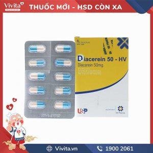 Thuốc trị thoái hóa khớp Diacerein 50-HV