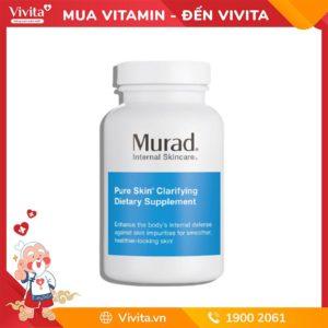 viên uống Pure Skin Clarifying Dietary Supplement