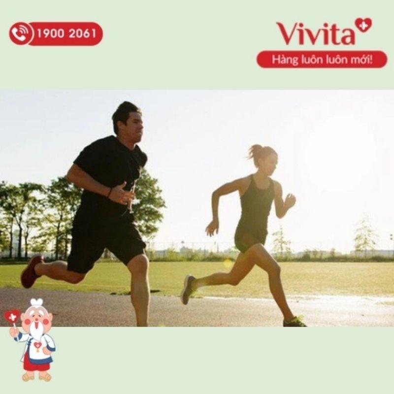 Luyện tập thể dục thể thao đều đặn giúp tăng cường sức khỏe.