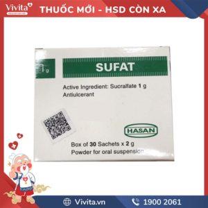 Thuốc dạ dày Sufat 1 g