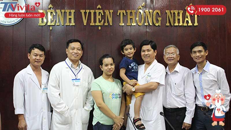 Bác sĩ Nguyễn Đức Công nguyên là Giám đốc bệnh viện Thống Nhất