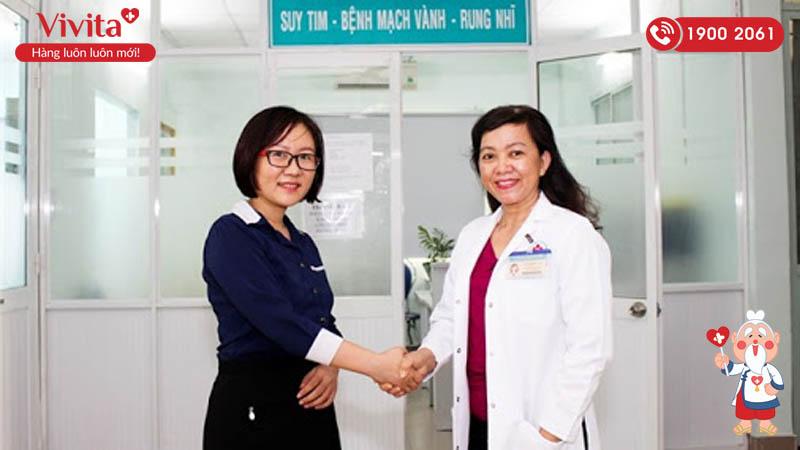 Bác sĩ Thái Thị Mai Yến tư vấn bệnh tim mạch