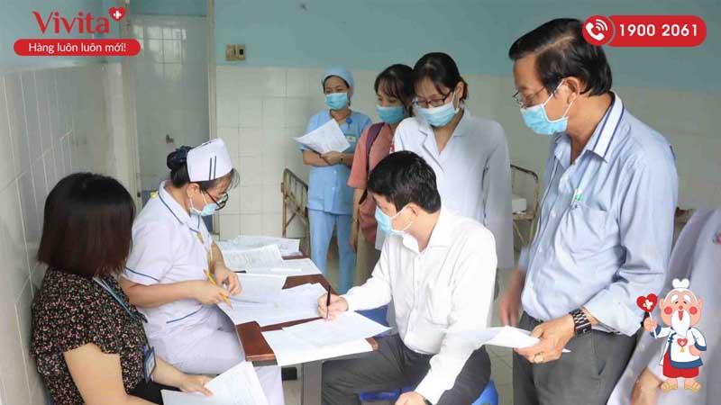 Bệnh viện An Bình tổ chức tiêm vaccine ngừa COVID 19 cho viên chức, người lao động