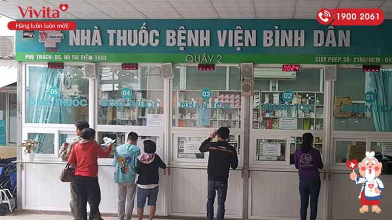 Nhà thuốc bệnh viện Bình Dân
