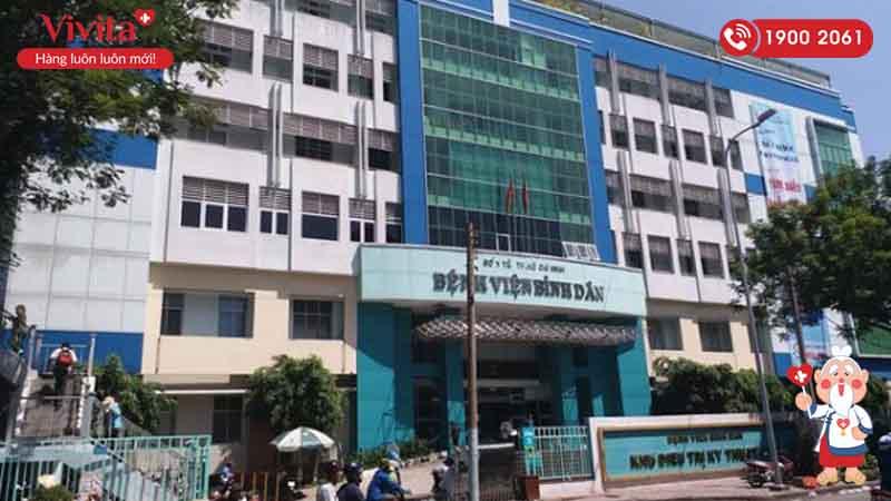 Khu điều trị Kỹ thuật cao Bệnh viện Bình Dân