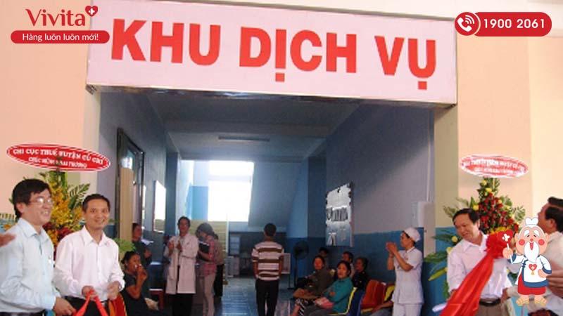Khánh thành khu khám Dịch vụ tại bệnh viện