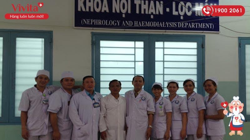 Đội ngũ nhân viên y tế khoa Nội thận - Lọc máu của bệnh viện