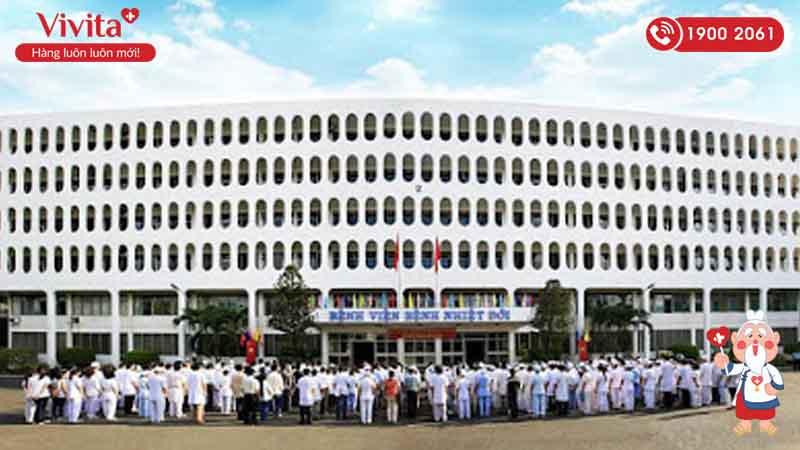 Đội ngũ nhân viên y tế của bệnh viện Nhiệt Đới