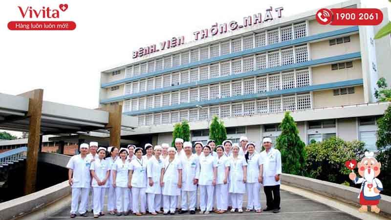 Đội ngũ nhân viên y tế của bệnh viện Thống Nhất