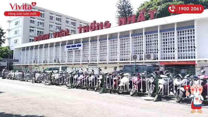 Khu khám bệnh của bệnh viện Thống Nhất