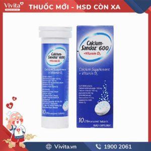 Calcium Sandoz 600 + Vitamin D3