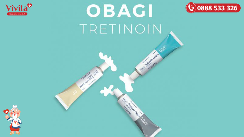 Tretinoin giúp trị mụn và chống lão hoá hiệu quả