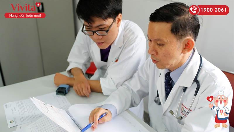 BS.CK1 Đỗ Văn Bửu Đan tại bệnh viện Tim Tâm Đức