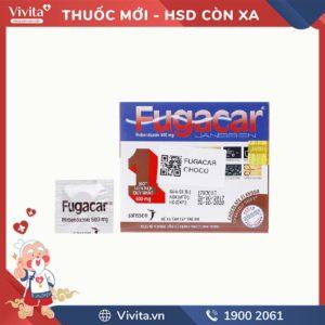 Thuốc tẩy giun Fugarcar 500mg vị chocolate