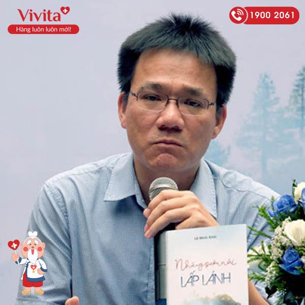 """PGS.TS.BS Lê Minh Khôi: """"Văn chương là mối tình đầu chung thủy suốt cả cuộc đời"""""""