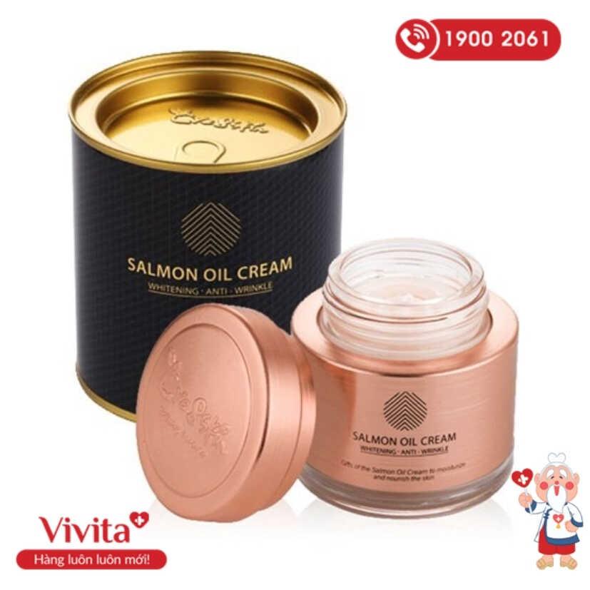 Bảng thành phần với những nguyên liệu tự nhiên, lành tính trên đã giúp Salmon Oil Cream trở thành một sản phẩm an toàn với mọi loại da.