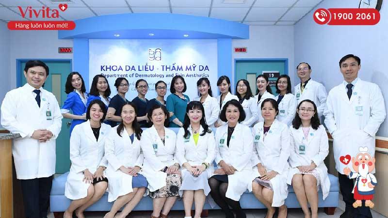 Bệnh viện Đại học Y Dược Thành phố Hồ Chí Minh nơi Bác sĩ Chuyên đang công tác