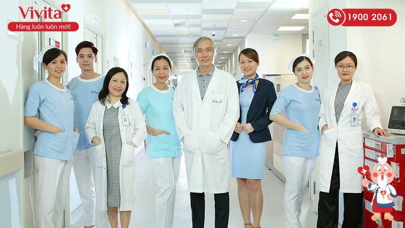 Đội ngũ y bác sĩ khoa Nội Tim mạch - Tim mạch can thiệp bệnh viện Gia An 115