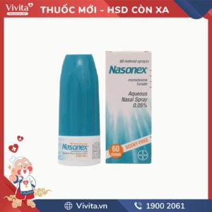 Thuốc xịt mũi trị viêm mũi dị ứng Nasonex