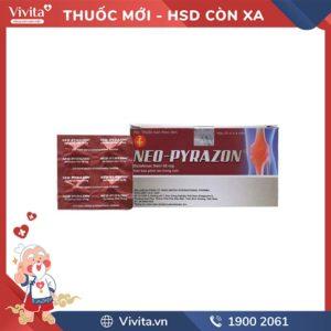 Thuốc giảm đau, kháng viêm Neo-Pyrazon
