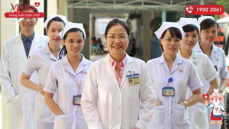 Đội ngũ y bác sĩ khoa Nhịp tim học bệnh viện Nhân dân 115