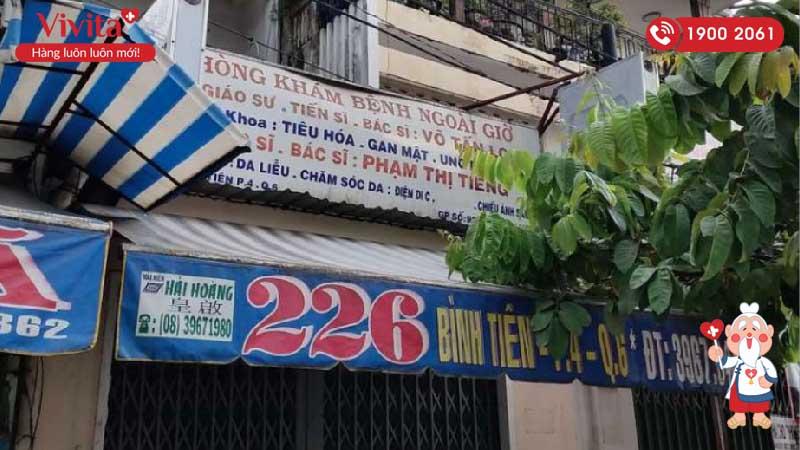 Phòng khám tư của bác sĩ Phạm Thị Tiếng