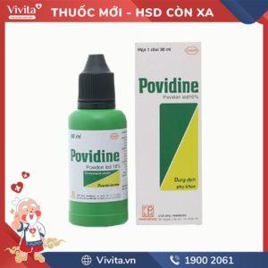 Dung dịch vệ sinh phụ khoa Povidine
