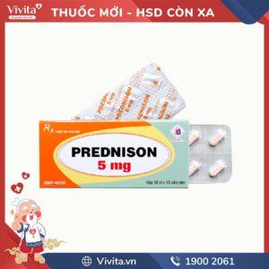 Thuốc kháng viêm Prednison 5mg Domesco
