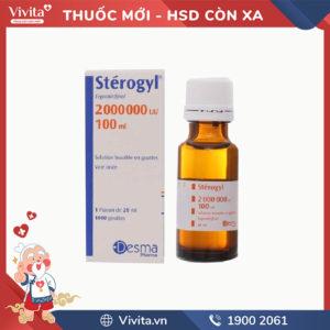 Siro bổ sung vitamin D Stérogyl 2000000UI/100ml