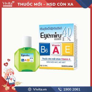 Thuốc nhỏ mắt Eyemiru 40 EX