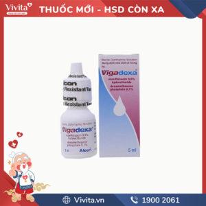 Thuốc nhỏ mắt trị nhiễm khuẩn Vigadexa