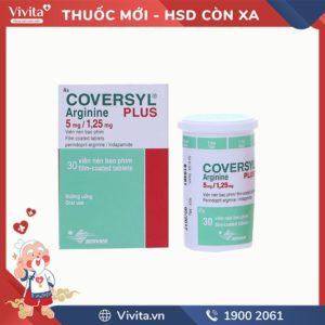 Thuốc trị cao huyết áp Coversyl Plus 5mg/1,25mg