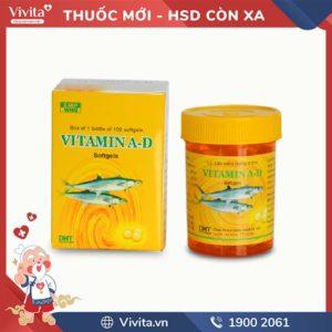 Thuốc bổ sung Vitamin A-D Dược Phẩm Hà Tây