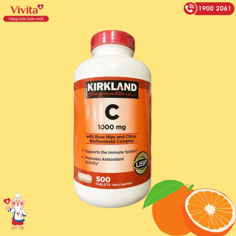 Có thể nhận thấy, ngay từ tên gọi, thành phần chủ yếu của sản phẩm chính là vitamin C.