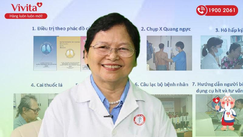 PGS.TS.BS Lê Thị Tuyết Lan – Chuyên khoa Hô hấp