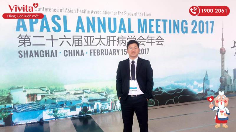 TS.BS Nguyễn Duy Thông tại Hội nghị Gan mật châu Á - Thái Bình Dương 2017
