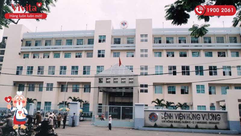 Cổng chính của bệnh viện